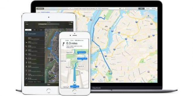 Iphone application géolocalisation